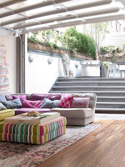 amusing new england contemporary living room   New England Living Room Ideas, Pictures, Remodel and Decor
