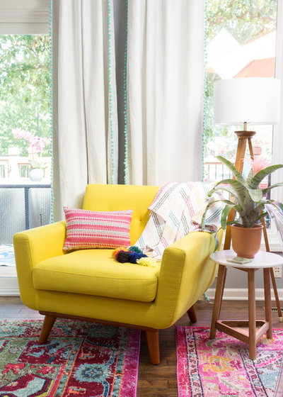 Eclectic Living Room by Jessica Cain