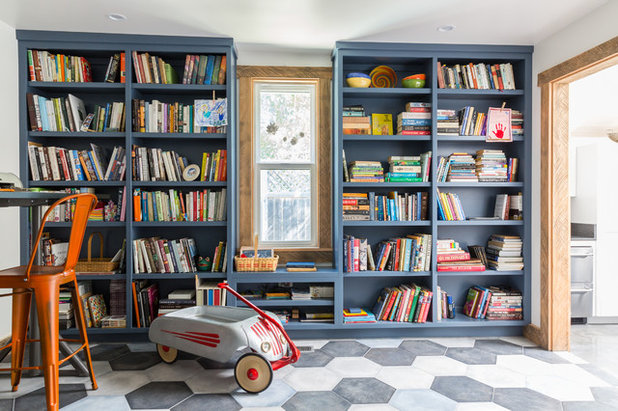 Contemporary Living Room by Lauren Edith Andersen, Photographer