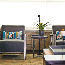 Contemporary Living Room by Cynthia Lynn Photography