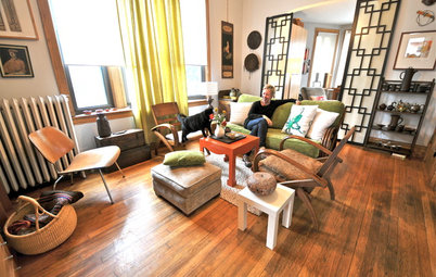 My Houzz: A Chicago Two-Story Circles the Globe