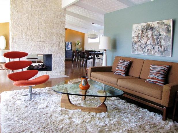 Concrete Floor Mid Century Modern