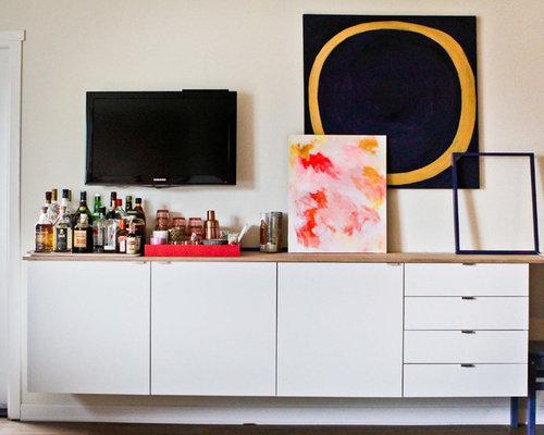 einrichtungsidee fr klassische wohnzimmer in seattle - Wohnzimmer Ikea Besta