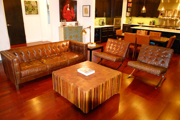 Eclectic Living Room by Kara Mosher
