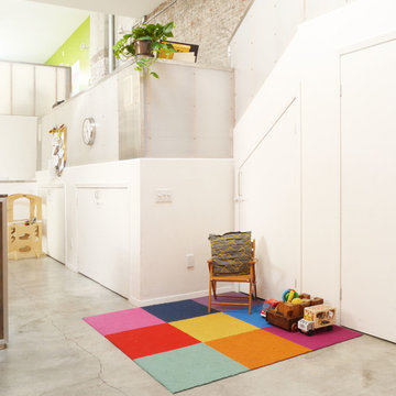 My Houzz: A Family Makes a Converted Auto Body Shop Their Own