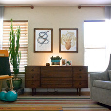 Eclectic Living Room by Hilary Walker