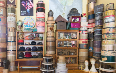 My Houzz: A Hat Collection in Los Angeles That's Hard to Top