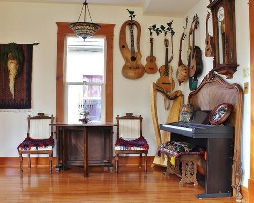 147 Music Instruments Living Room Design Ideas Remodel Pictures