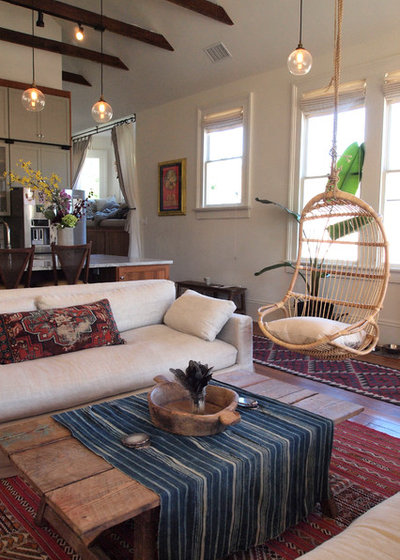 Lovely Eclectic Living Room by Kayla Stark