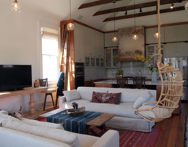 Best Eclectic Living Room by Kayla Stark