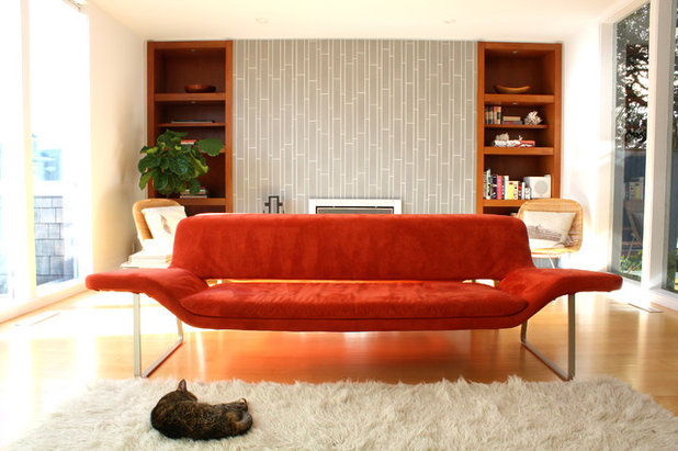 Midcentury Living Room by Shannon Malone