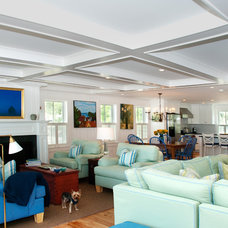 Beach Style Living Room by Mary Prince