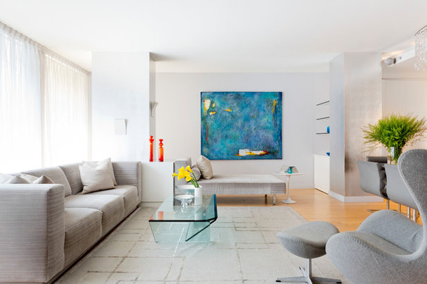 Contemporary Living Room by Rikki Snyder
