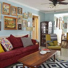 My Houzz: A 'Whimsical Museum Gallery' in Texas