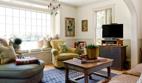 My Houzz: A Transformed Farmhouse Full of Vintage and One-off Pieces