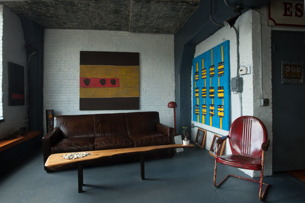 Industrial Living Room by Jason Snyder