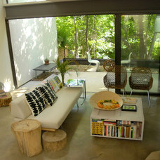 modern living room by Kara Mosher