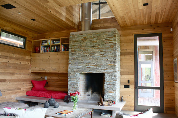 My houzz contemporary camp style wows on the u s west coast - Houzz wohnzimmer ...