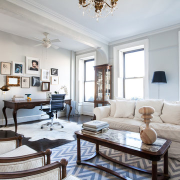 My Houzz: Art and Antiques Enliven a Brooklyn Brownstone