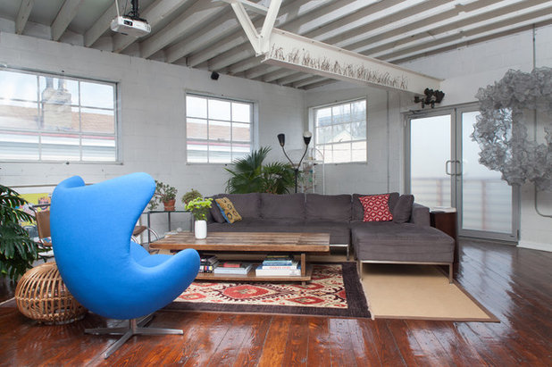 Eclectic Living Room by Jason Snyder