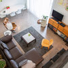 My Houzz: Splashes of Color in a Modern Arizona Loft