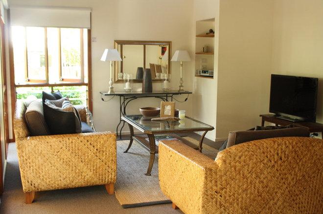 Mediterranean Living Room by Holly Marder