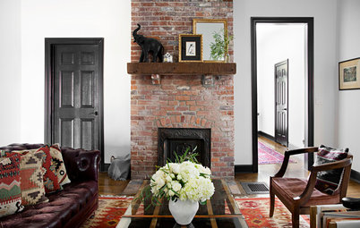 My Houzz: Black Adds Drama to This 1930 Nashville Home