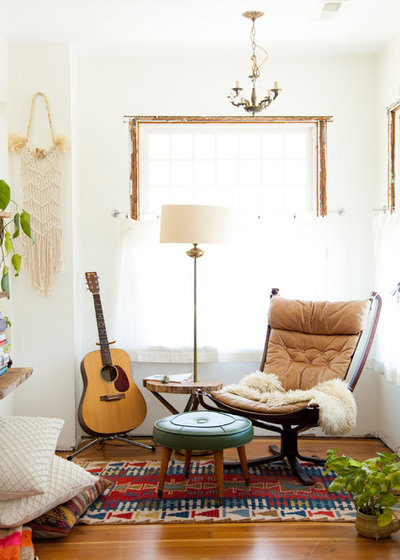 Eclectic Living Room by A Darling Felicity Photography