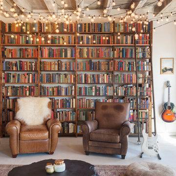 My Houzz: Books and String Lights Jazz Up an L.A. Loft