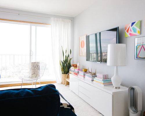 Idee e foto di soggiorni classici ikea malm white dresser