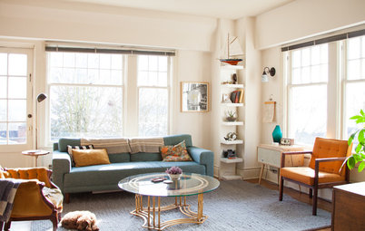 USA Houzz: Creative Couple Pack Personality Into a Sunny Seattle Rental