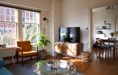 Simple My Houzz My Houzz Thoughtful Eclectic Style for a Sunny Seattle Apartment