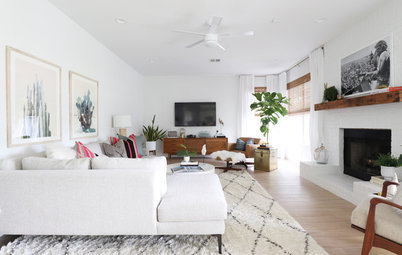 My Houzz: Bright White and Color in Austin