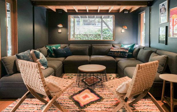 Contemporary Living Room by STRUKTR Studios Photography
