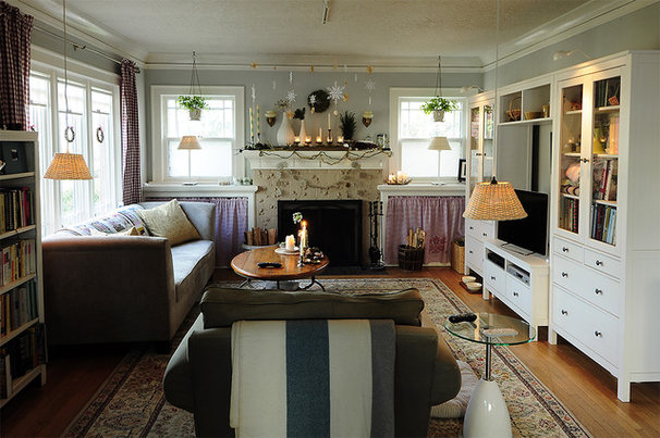 Eclectic Living Room by Julie Smith