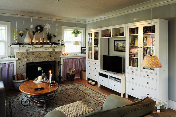Eclectic Living Room by Julianna Smith