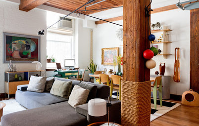 21 Creative Ways With Load-Bearing Columns