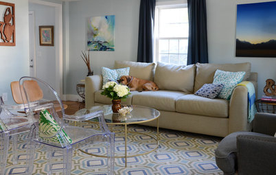 My Houzz: Classic Style With a Colorful DIY Twist in New England