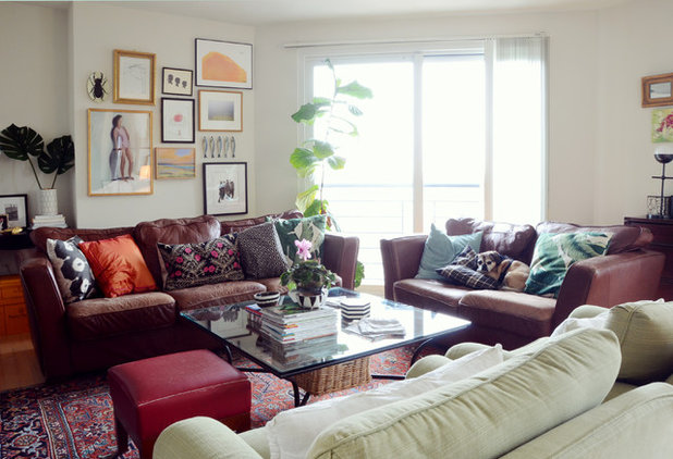 Transitional Living Room by Design Fixation [Faith Provencher]