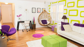 My Houzz: Color at Play in a Massachusetts Townhouse
