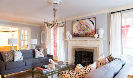 Color, Heirlooms and Artwork Refresh a Kansas City Home