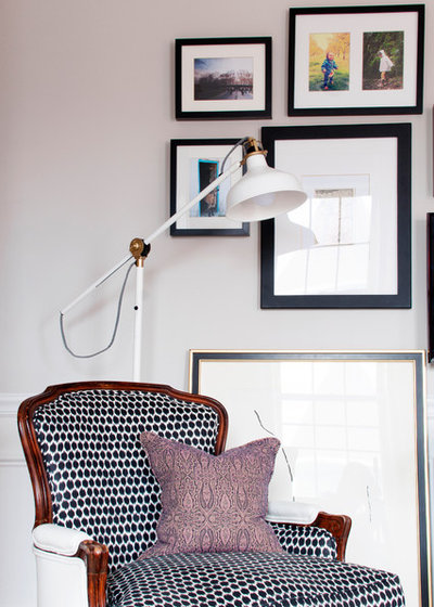 Transitional Living Room by Alexandra Crafton