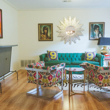 My Houzz: Color, Kitsch and Craft Abound in This Austin Home