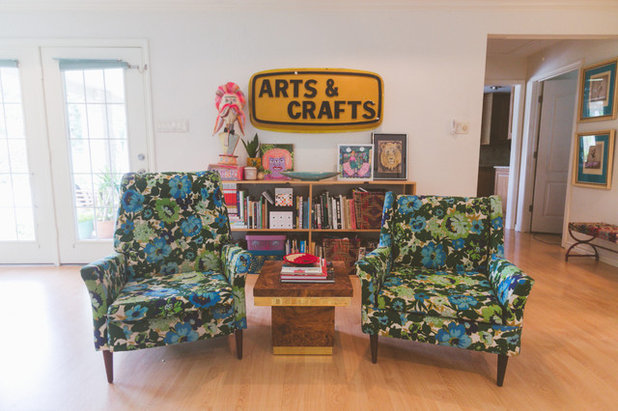 Eclectic Living Room by Heather Banks