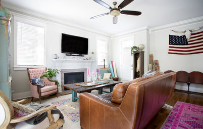 My Houzz: Colorful Boho Home for 2 Nashville Entrepreneurs