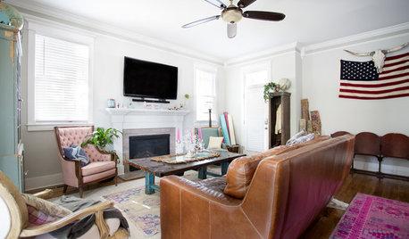 My Houzz: Colorful Boho Home for 2 Nashville Entrepreneurs