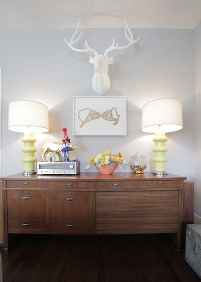 9 Ways to Style That Credenza