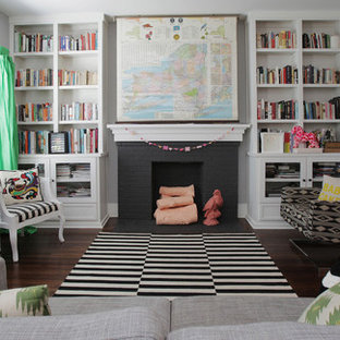 My Houzz: Colorful Hand Painting Bedecks a Creative Home