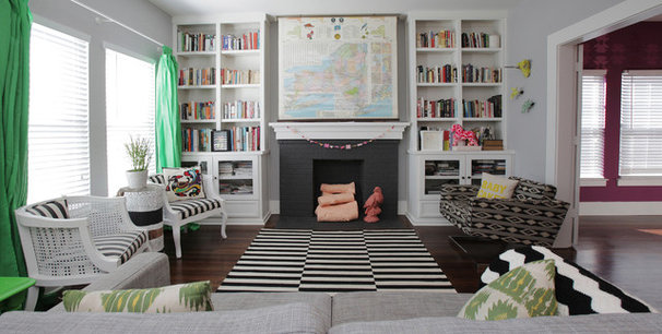 Eclectic Living Room by Lindsay von Hagel
