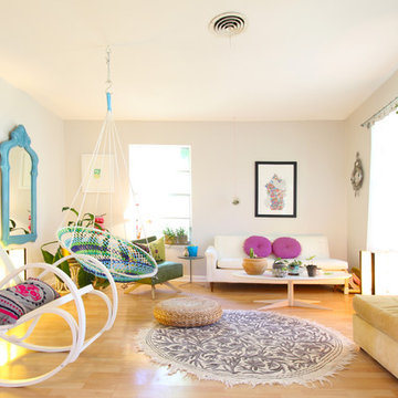 My Houzz: Colorful, Handmade and Boho Style in an Austin Bungalow